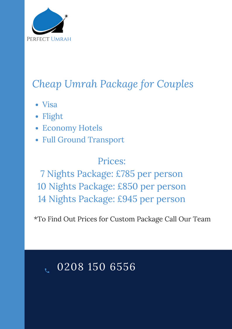 cheap umrah package for couples